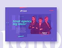 D!visia event agency | webdesign & branding