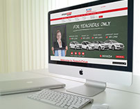 Digital & Print design - Car service