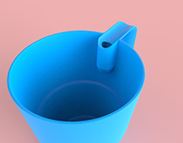 Sun - Cup for Visually Impaired People