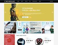 WS Medilax - Audio Store WordPress Theme