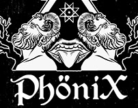 PHöNIX Flyer and graphics