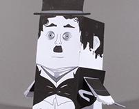 Papercraft – Charlie Chaplin