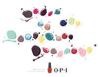 OPI - Color is the universal language