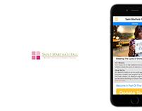 Saint Martha's Hall | Mobile Website