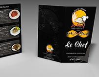 Le Chef Restaurant - The Menu