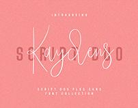 Kaydens Script Font Collection