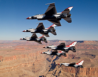 Seymour Johnson AFB Air Show - USAF Thunderbirds Bio