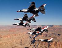 Seymour Johnson AFB Air Show - USAF Thunderbirds Bio