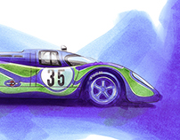 Porsche 917k 'Psychedelic' Martini Racing Team
