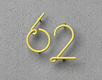 NakNak's Wire House Numbers
