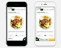 Tastinow Catering Website Mobile Version