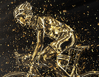 Gold Confetti Photoshop Action