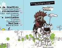 Afiche Festival Nacional de Cultura Urbana