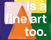 Is A Fine Art Too Series: One-Liners