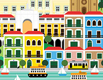 Lisbon Illustration
