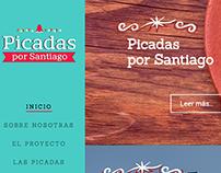 Sitio web Picadas por Santiago
