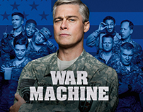 Netflix: War Machine Campaign