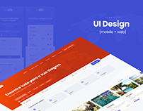 UI Design - Website