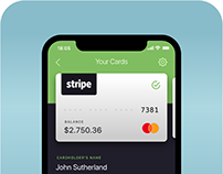 Banking Mobile App - Card Information - Visual Design