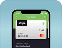 Banking Mobile App - Card Information - Visual Design