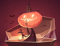 Halloween illustrations 2015