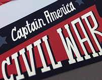 Captain America: Civil War Poster Set
