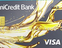 Fuel Bank Card 3d Graphics