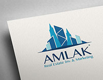 Amlak Real Estate - Rebranding