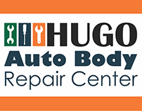 Hugo Auto Business Card Designs
