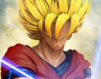 Son Goku 3d