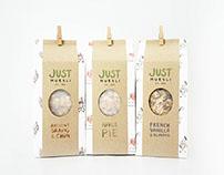 Just Muesli - Packaging Design