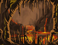 Hell's Gate Speed Painting