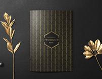 "Photo & menu design for restaurant ""Prodigium"""