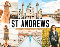 Free St Andrews Mobile & Desktop Lightroom Presets