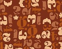 Hand-drawn Type Pattern