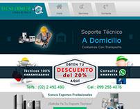 Diseño web html5 - www.tecni-centerquito.com