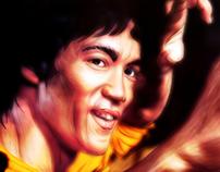 Bruce Lee digital art