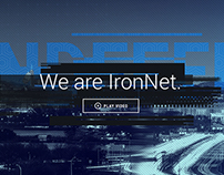 IronNet Cybersecurity Company Website