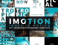 Imotion - Gif Animated Photoshop Template