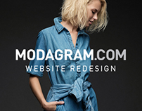Modagram.com Website Redesign