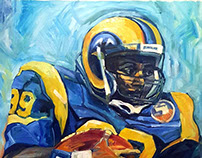 Ron Brown 89. Rams
