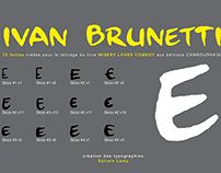 Éditions Cambourakis, typographie