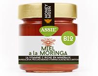 Diseño etiquetas miel ASSIL