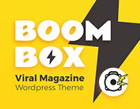 Boombox - Viral & Buzz WordPress Theme