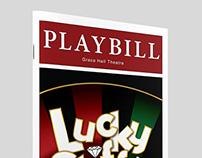 Playbill | Lucky Stiff