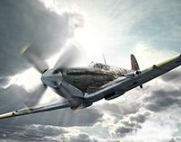 IWC Schaffhausen Pilot's Watches CGI Campaign