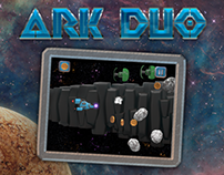 ARK DUO - Space Shooter - Game Art