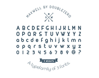 FREE Maxwell Font Family