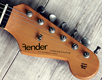 FENDER REDESIGN: Redesign of famous guitar company: