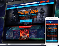Game Website Design